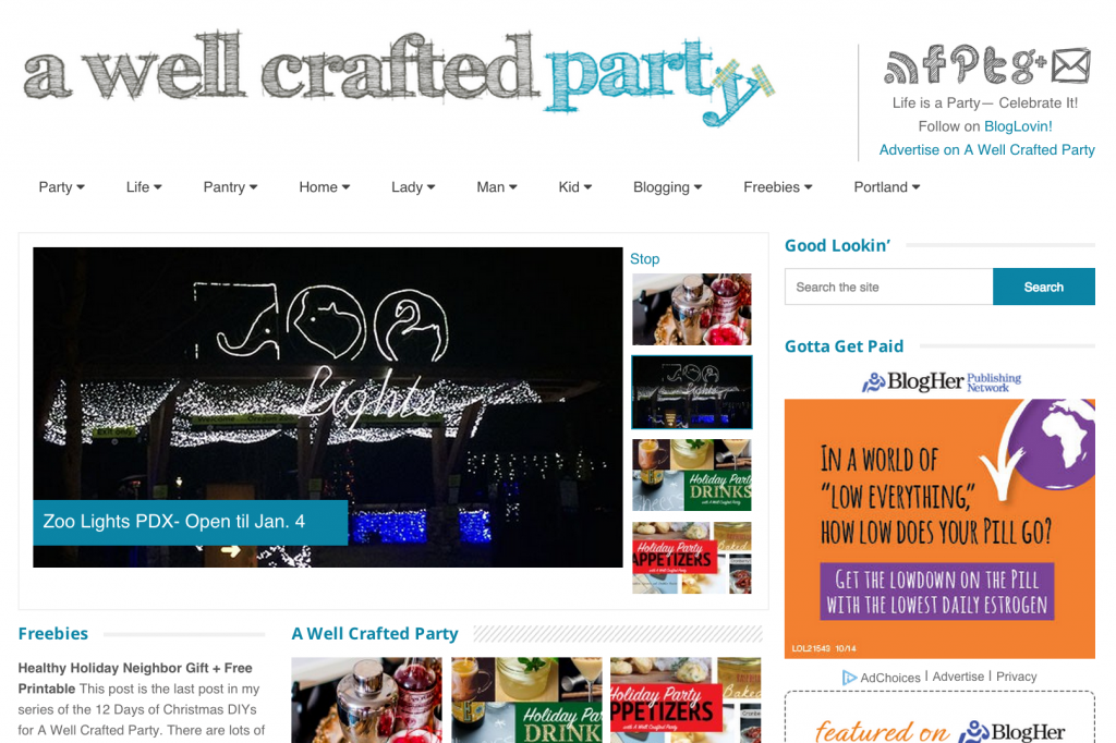 A Well Crafted Party // Design & Content by Jenni Bost Creative Services LLC