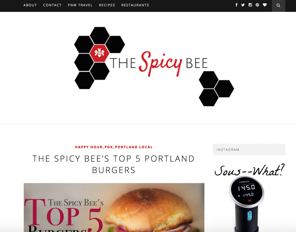 Brand Development in Action - The Spicy Bee